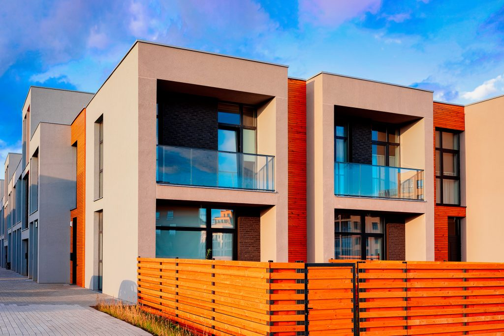 What are fire rated boundary walls in building construction?